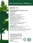 Our company is now FSC® certified