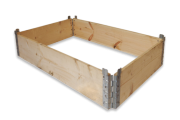 Hinged pallets